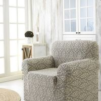 Чехол для кресла Karna MILANO арт2684 беж
