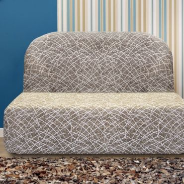 Чехол на диван без подлокотников Греция висон