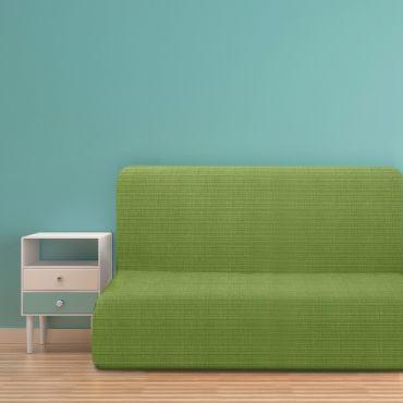 Чехол на диван без подлокотников Ибица зеленый