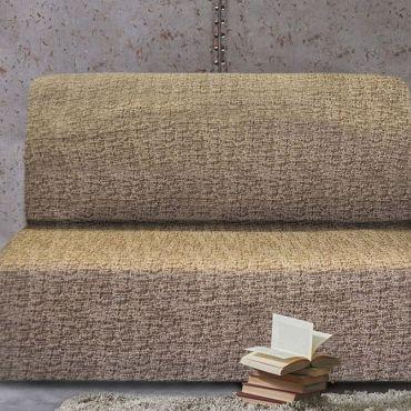 Чехол на диван без подлокотников Мальта марон