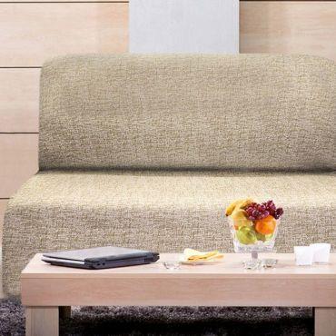 Чехол на диван без подлокотников Мальта висон
