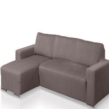 Чехол на угловой диван АЛЯСКА серый левый