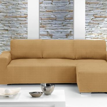 Чехол на угловой диван ИБИЦА бежевый правый