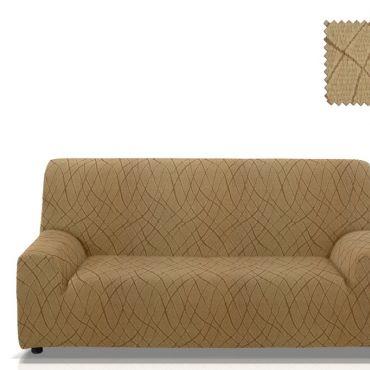 Чехол на 2-3х местный диван КАРЕН бежевый