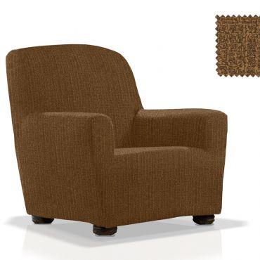 Чехол на кресло НАТУРЕ коричневый