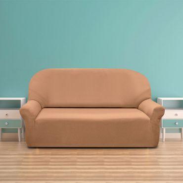 Комплект чехлов (2м диван и 2 кресла)  РУСТИКА бежевый