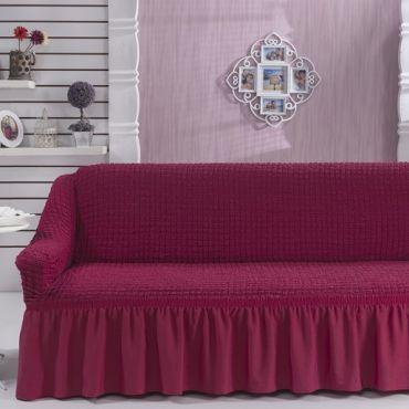 Чехол для дивана двухместный BULSAN Фуксия