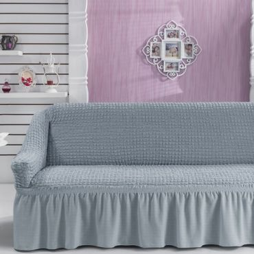 Чехол для дивана двухместный BULSAN Серый