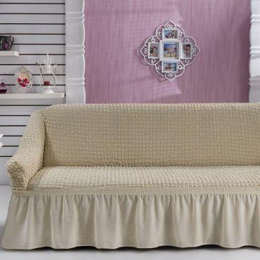Чехол для дивана двухместный BULSAN Натурал