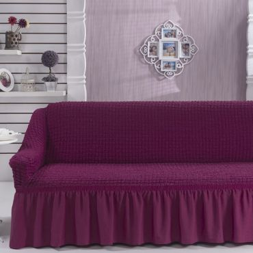 Чехол для дивана двухместный BULSAN Лаванда арт.2027
