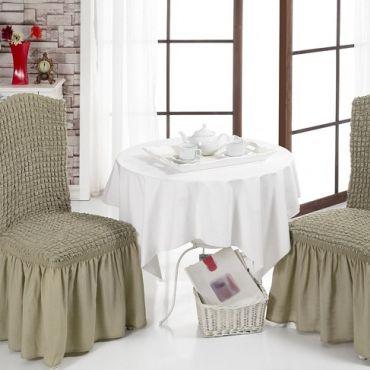 Чехлы на стулья 4 шт в ассортименте арт8029