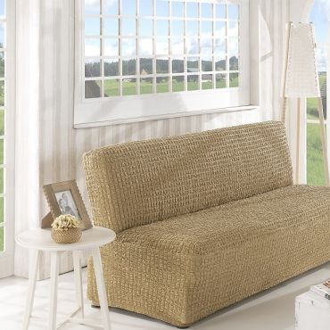 Чехол на диван без подлокотников 3м арт2650 беж