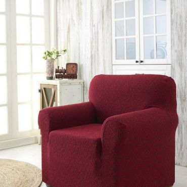 Чехол для кресла Karna MILANO арт2684 бордо