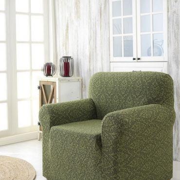 Чехол для кресла Karna MILANO арт2684 зеленый