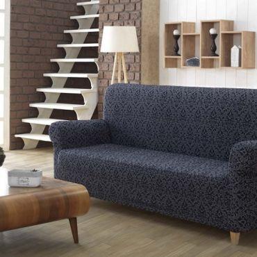 Чехол на диван 3м Karna Milano Антрацит арт2686
