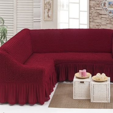 Чехол на угловой диван Бордо DO&CO арт8209м