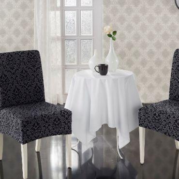 Чехлы на стулья 2шт Milano арт.2911 Серые