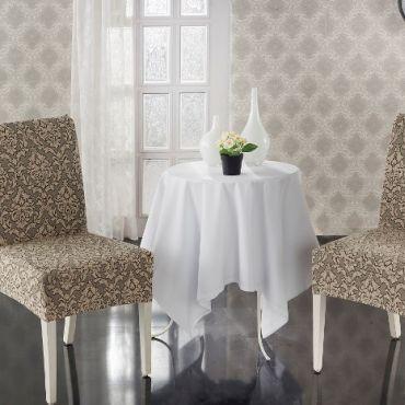 Чехлы на стулья 2шт Milano арт.2911 Беж