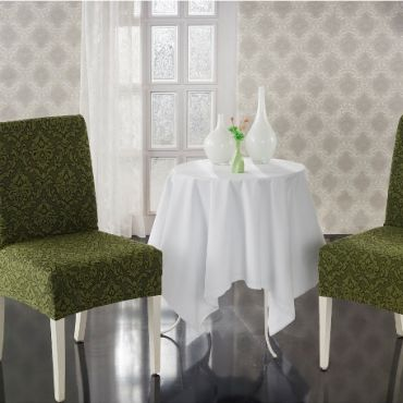 Чехлы на стулья 2шт Milano арт.2911 Зеленый
