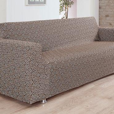 Чехол на диван 3 мест Karna Verona арт.2934 Коричневый