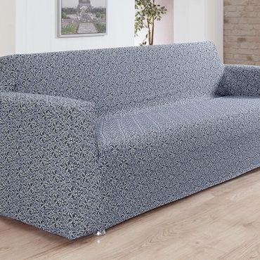 Чехол на диван 3 мест Karna Verona арт.2934 Серый