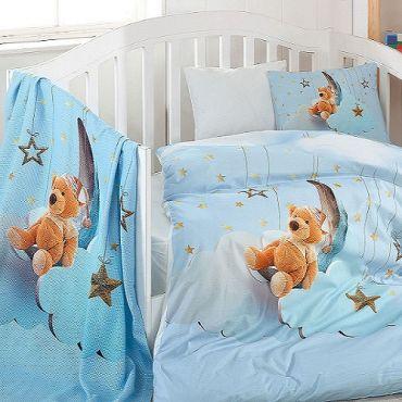 Постельное белье в кроватку BULE DRAEM 3D арт9169