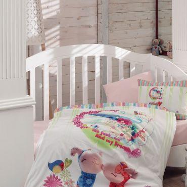 Постельное белье в кроватку ZUZU 3D арт9171