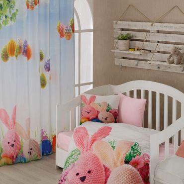 Постельное белье в кроватку RITA 3D арт9174