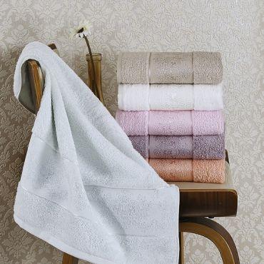 Набор полотенец бамбук 3шт 70х140 PANDORA арт2157 в асс