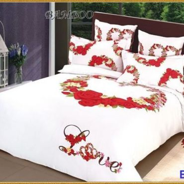 Постельное белье бамбук евро вм004
