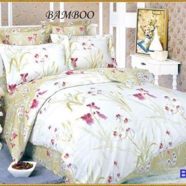 Постельное белье бамбук евро вм005