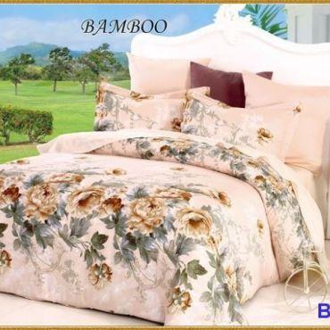 Постельное белье бамбук евро вм008
