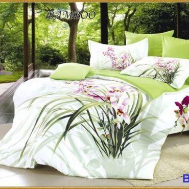 Постельное белье бамбук евро вм009