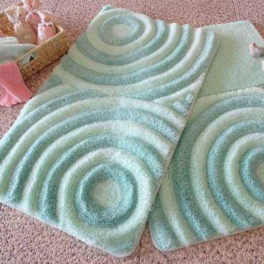 Набор ковриков DO&CO Wave мятный арт.9401