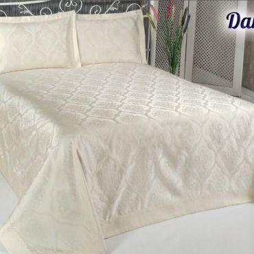 Покрывало жаккард DAMASK 250x270 Крем арт8998