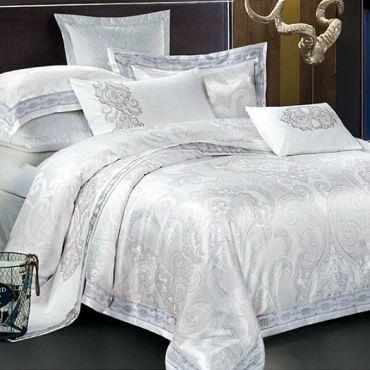 Белье постельное сатин жаккард Семейное ЖКК-455