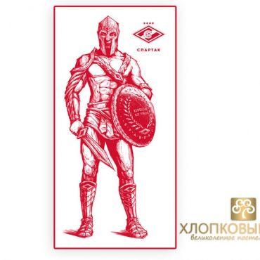 Полотенце Спартак Гладиатор банное 1шт 70х140