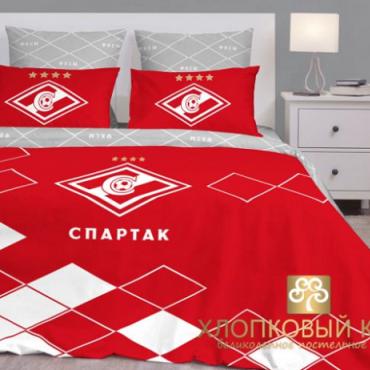 Постельное белье 1,5сп ФК Спартак Москва