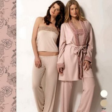 Домашняя одежда Luisa Maretti lms1002 крем