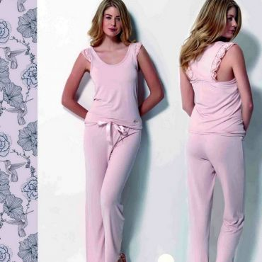 Домашняя одежда Luisa Maretti lms1102 розовый