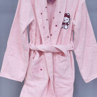 Банный комплект детский  Hello Kitty розовый арт12016
