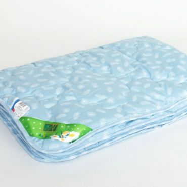 Одеяло в кроватку Лебяжка легкое