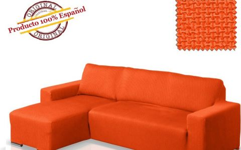 Чехол на угловой диван АЛЯСКА оранж левый