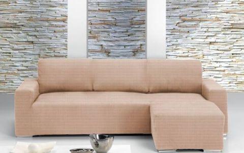 Чехол на угловой диван ИБИЦА слоновая кость правый