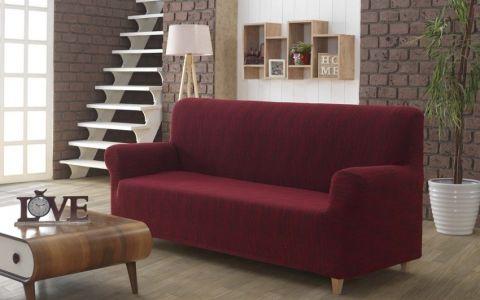 Чехол на диван 3м KARNA ROMA Бордо арт2689
