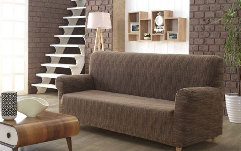 Чехол на диван 3м KARNA ROMA Кофе арт2689