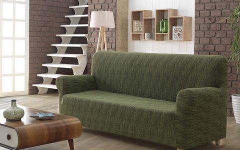 Чехол на диван 3м KARNA ROMA Зеленый арт2689