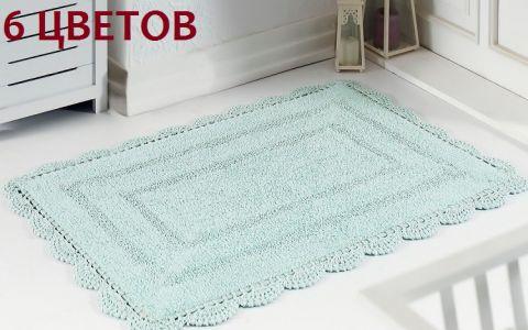 Коврик для ванной кружевной EVORA 60x100 арт5089