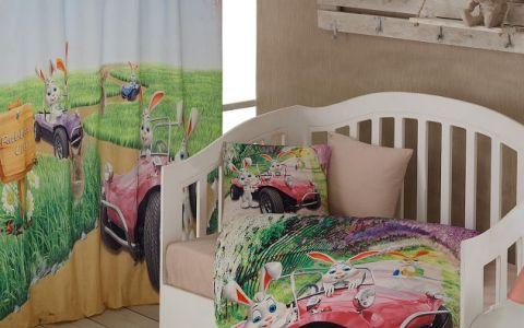 Постельное белье в кроватку MISA 3D арт9167