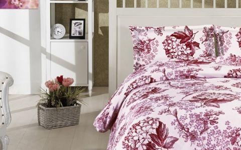 Постельное белье ALTINBASAK LUISA Сатин (200x220) Бордовый
